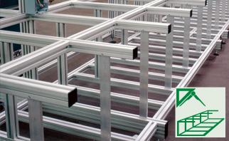 Aluminium Profile Systems Assembly Of Aluminium Profiles