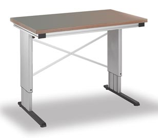 Assembly Workstations Configured Height Adjustable Work Tables