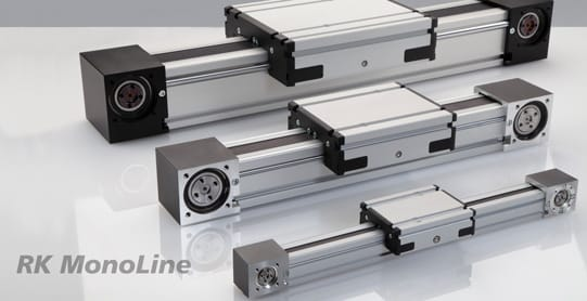 RK MonoLine linear actuator — now also available in size 120