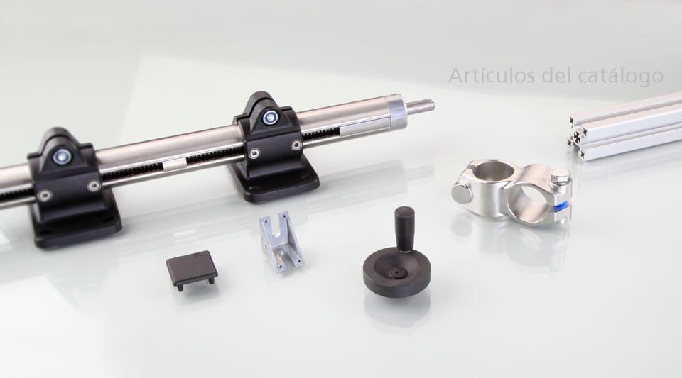 rk rose krieger gmbh conectores de tubo abrazaderas perfiles de aluminio actuadores lineales. Black Bedroom Furniture Sets. Home Design Ideas