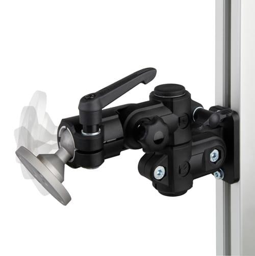 monitorhalterung monitorhalter indiv einstellbar. Black Bedroom Furniture Sets. Home Design Ideas