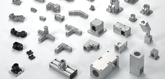 Tube connectors made of Aluminium   Stainless steel