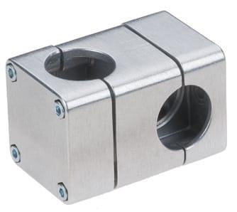 Aluminium tube connectors