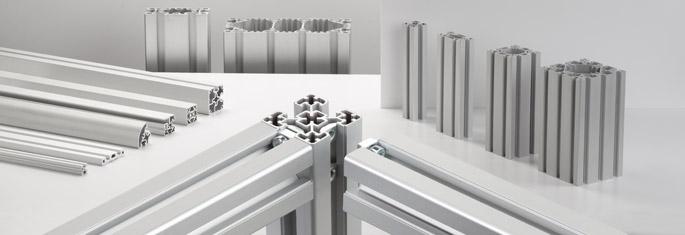 alu profilsystem aluminiumprofile ohne bearbeitung montieren. Black Bedroom Furniture Sets. Home Design Ideas