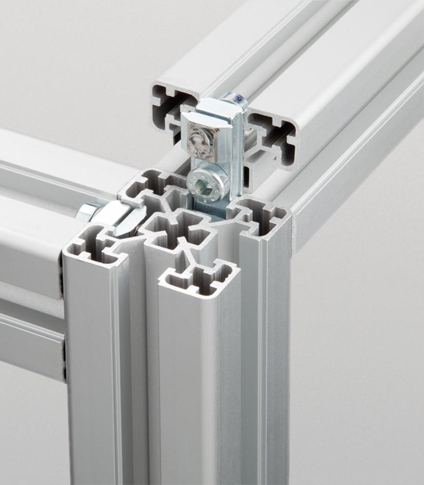 konstruktionsprofile alu. Black Bedroom Furniture Sets. Home Design Ideas
