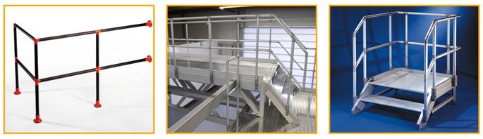 Ordentlich Industrielle Treppen | Arbeitsbühnen | Geländer aus Alu NN38