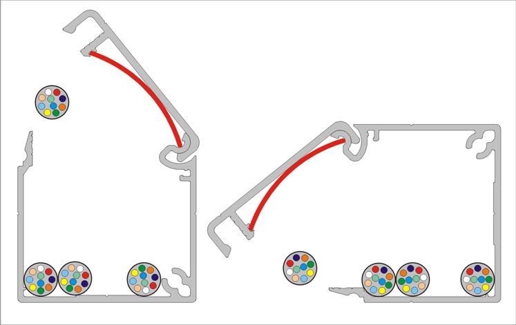 Kabelkanal Alu eleoxiert ▷ Kabelkanäle mit nützlichen Features
